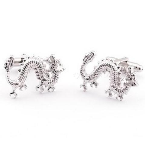 Chinese Dragon Cufflinks - 1