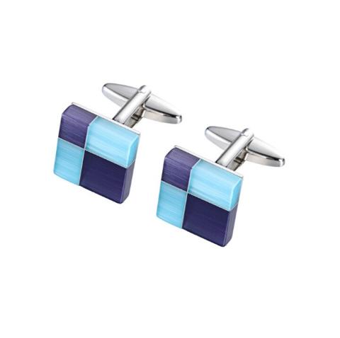 Cufflinks regular squares - 1