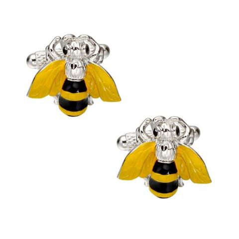 Bee cufflinks - 1