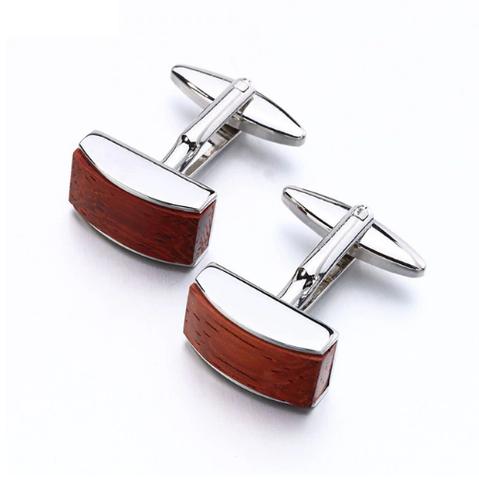 Cufflinks wooden strip - 1