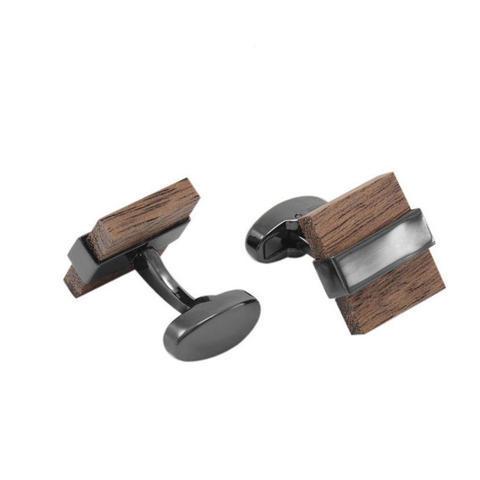 Cufflinks Wood Squares - 1