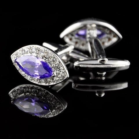 Great Indigo Crystal Cufflinks