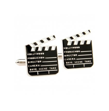 Film Flap Cufflinks - 1