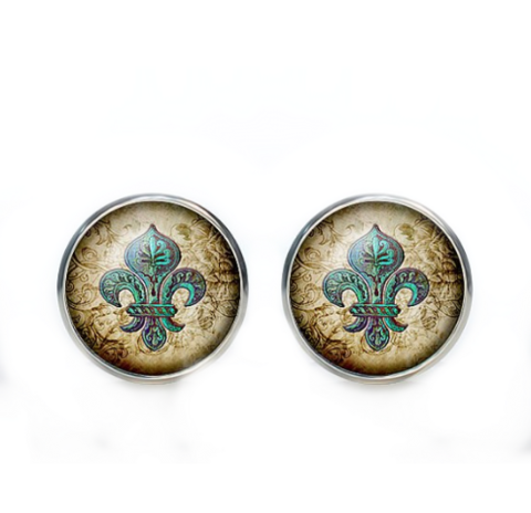Cufflinks Historical Lily