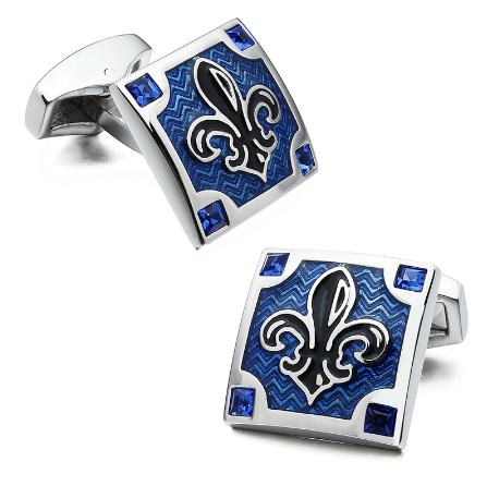 Cufflinks Scout French Lily