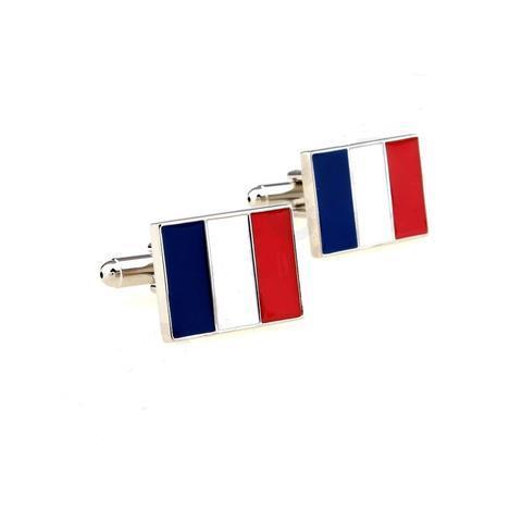 French Flag Cufflinks