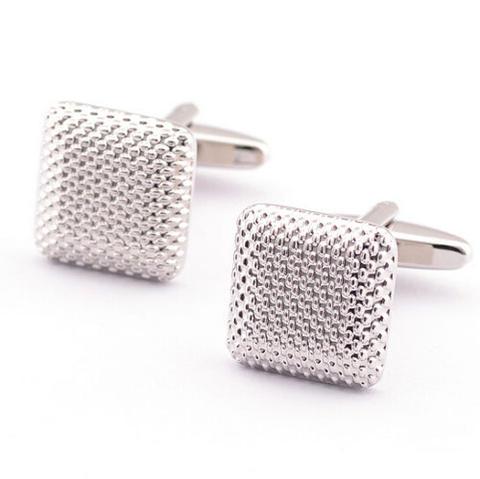 Square Stamping Cufflinks - 1