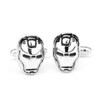 Iron Man Mask Cufflinks - 1