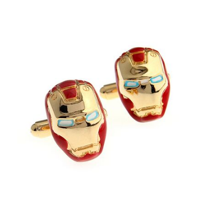 Iron Man Helmet Cufflinks - 1