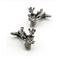 Deer cufflinks - 1/2