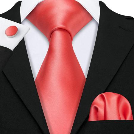 Cufflinks & Tie & Pocket Square Set - Moiry