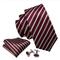 Cufflinks & Tie & Pocket Square Set - Peithó - 1/3