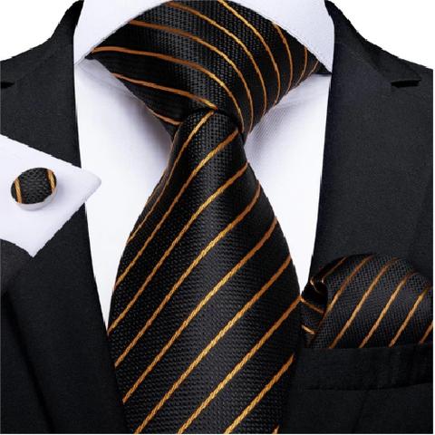 Cufflinks & Tie & Pocket Square Set Theia