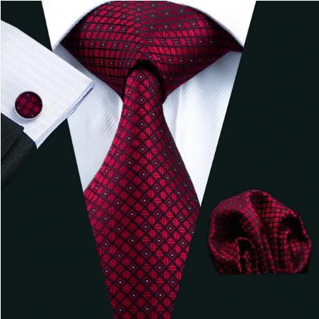 Cufflinks & Tie & Pocket Square Set - Aiolos