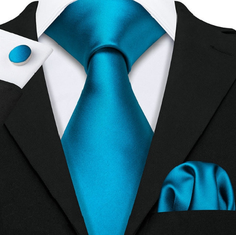 Cufflinks & Tie & Pocket Square Set - Apaté