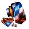 Cufflinks & Tie & Pocket Square Set - Plútos - 1/2