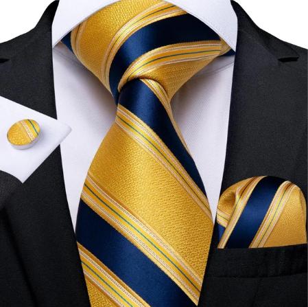 Cufflinks & Tie & Pocket Square Set - Erinye