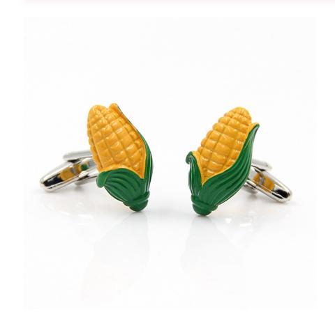 Corn cufflinks