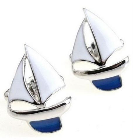 Cufflinks yachting