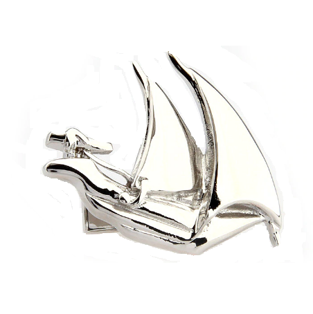 Sailing Boat Cufflinks - 1