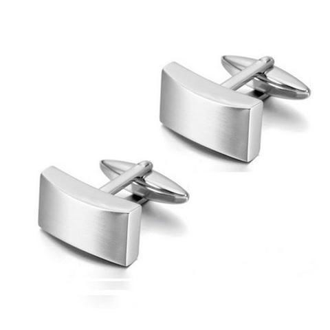 Cufflinks matte rectangles