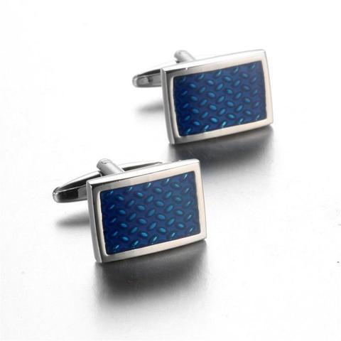 Cufflinks with tie clasp antique pattern - 1