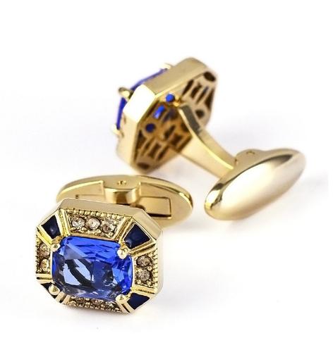 Luxury Golden Grail Cufflinks - 1