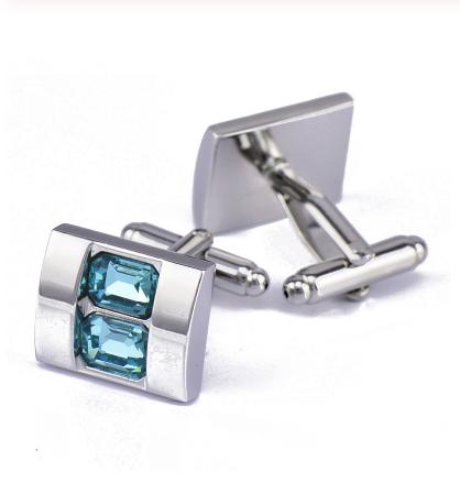 Cufflinks Blue stone - 1