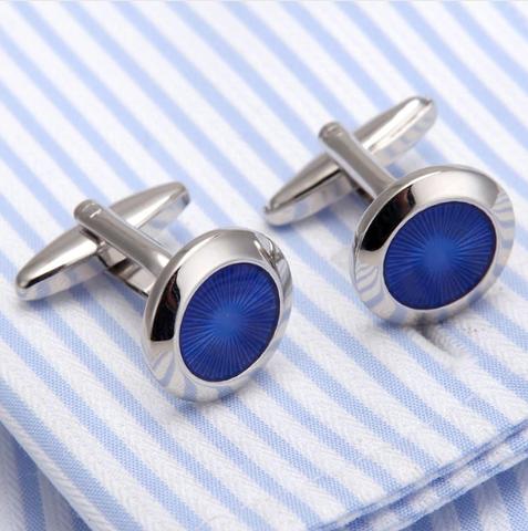 Cufflinks blue desire - 1