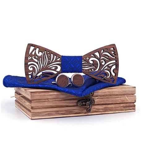 Oxford - Cufflinks Bow Tie Pocket Square Set