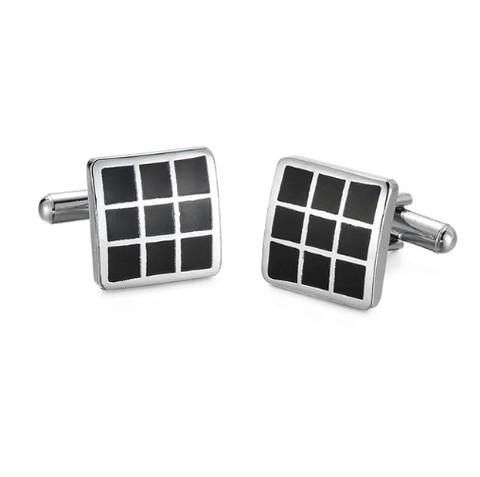 Black Window Cufflinks
