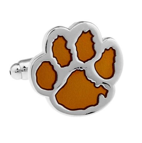 Bear paws cufflinks
