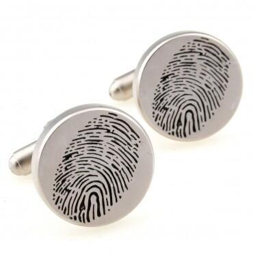 Fingerprint cufflinks - 1