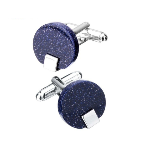 Star dust cufflinks