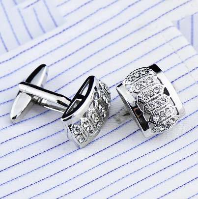 Royal shield cufflinks - 1