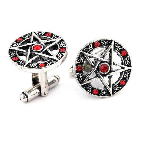 Pentagram Cufflinks - 1