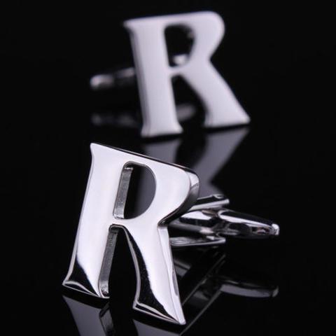 Initial M+K Letter Cufflinks