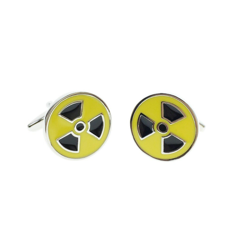 Radiation cufflinks