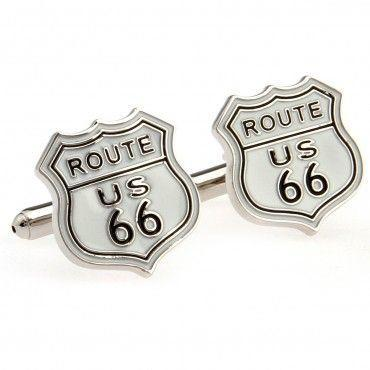 Cufflinks route 66