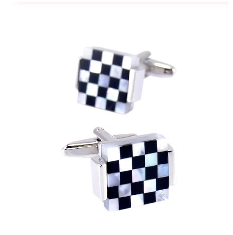 Cufflinks pearl mosaic - 1