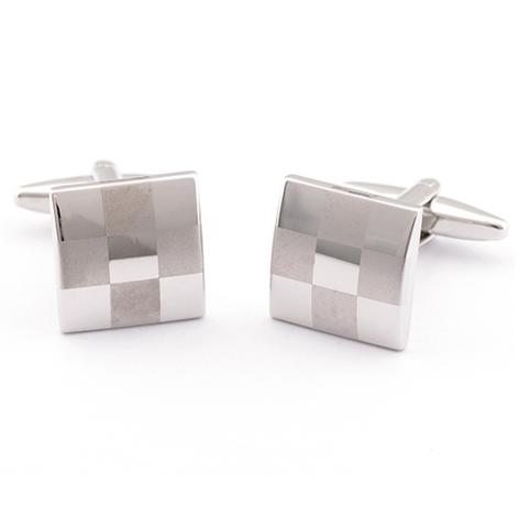 Cufflinks chessboard mosaic cufflinks