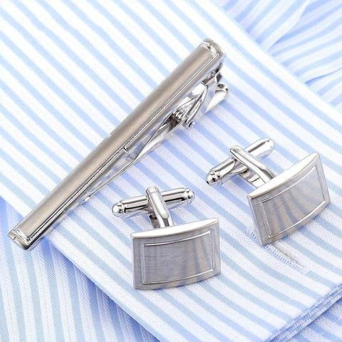 Cufflinks with tie traditional - 1