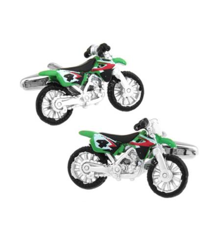 Motorcycle crosska cufflinks