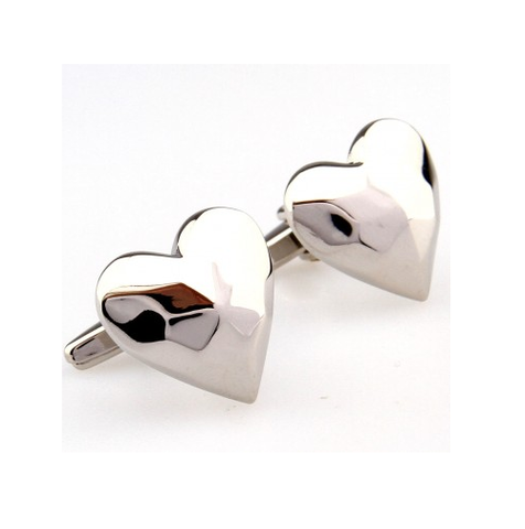 Cufflinks Heart Gloss - 1