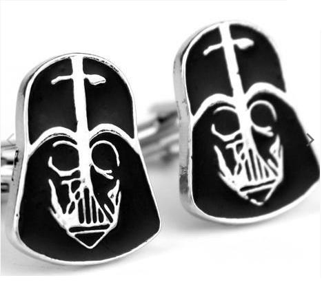 Darth Vader Helmet Cufflinks - 1