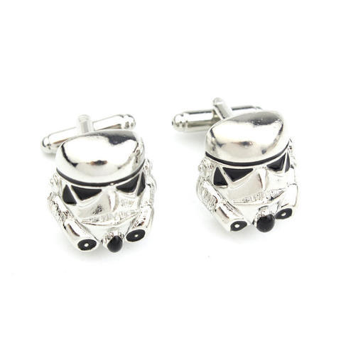 Star Wars Storm Trooper Helmet Cufflinks - 1