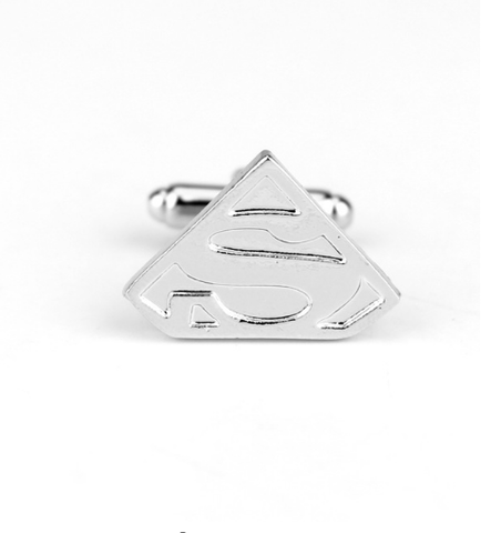 Cufflinks logo Superman