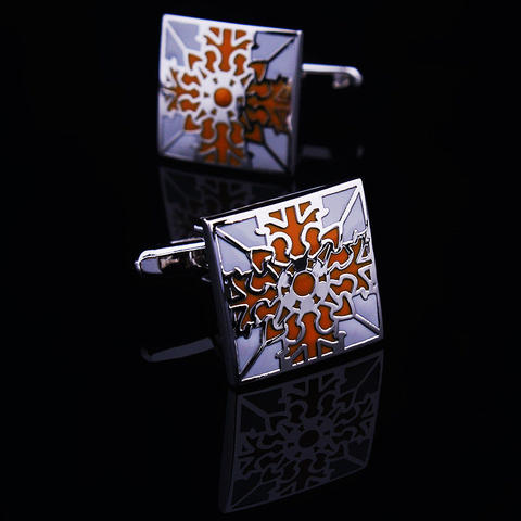 Floral Ornament Cufflinks - 1