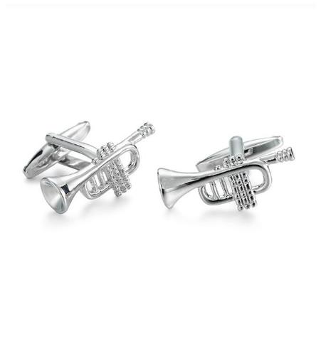 Trumpet Steel Cufflinks - 1
