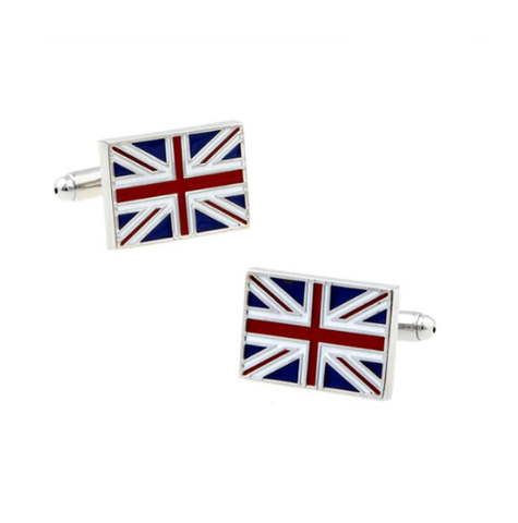 Union Jack GB Cufflinks - 1